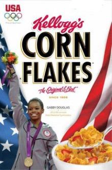Gabby Douglas Gold Medal Corn Flakes